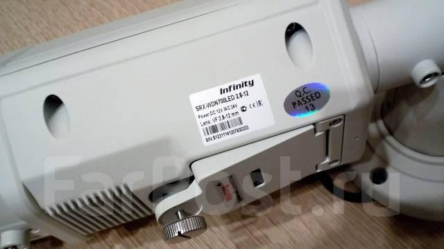 Infinity SRX-WDN700 LED. Менее 4-х Мп, с объективом