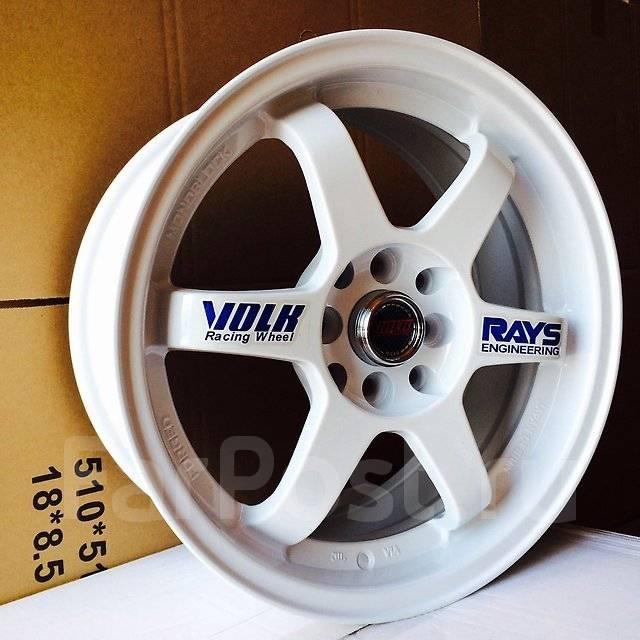 RAYS VOLK RACING. 7.0x16, 4x100.00, 4x114.30, ET35, ЦО 73,1мм.