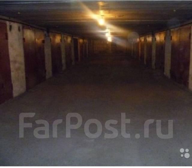 Гараж подземный. улица Рокоссовского 27, р-н Индустриальный, 24 кв.м., электричество, подвал.