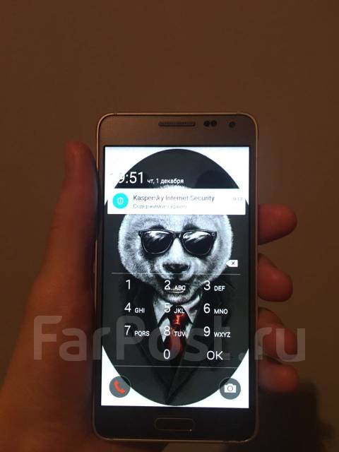 Samsung Galaxy Alpha. Б/у