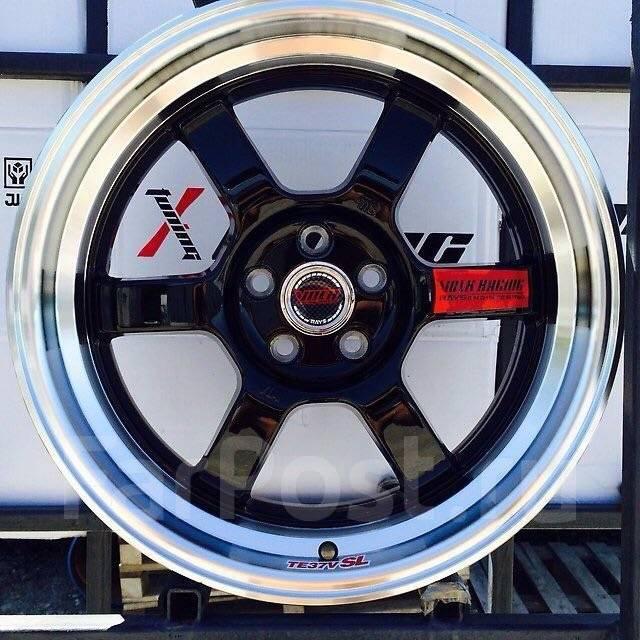 RAYS VOLK RACING. 7.5x17, 5x100.00, ET30, ЦО 73,1мм.