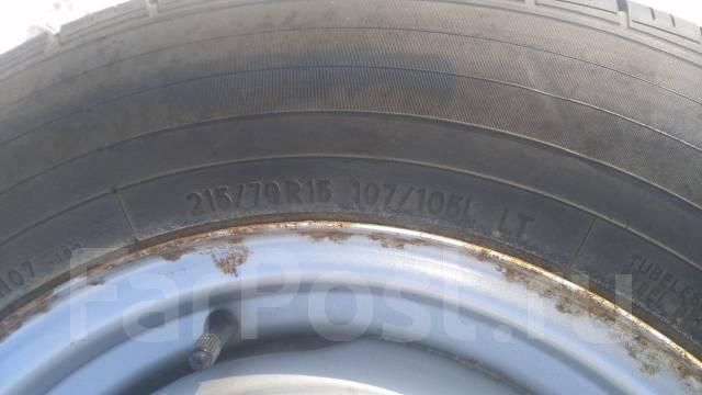 Продам новое грузовое колесо Toyo H07 215/70R15LT. 5.5x15 6x139.70 ЦО 108,0мм.