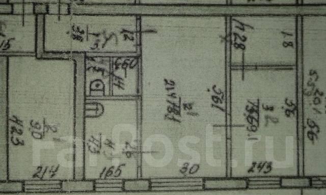 2-комнатная, улица Некрасова 156А. Центр, агентство, 41 кв.м. План квартиры