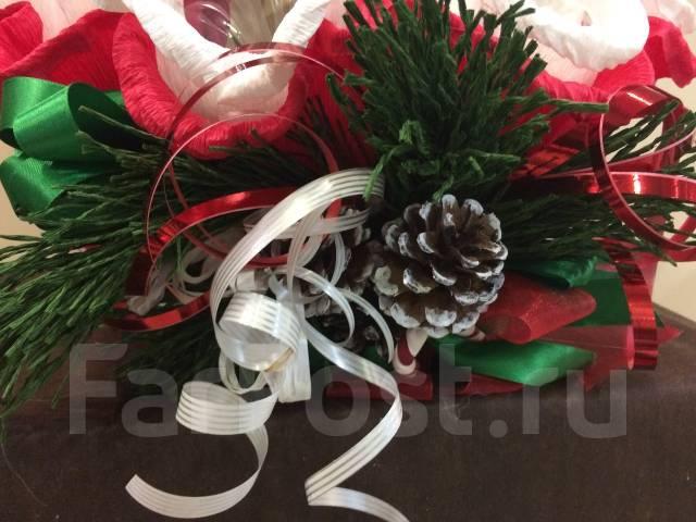 Подарок на Новый год Чайная корзина Арт 8.250 Новогодний подарок