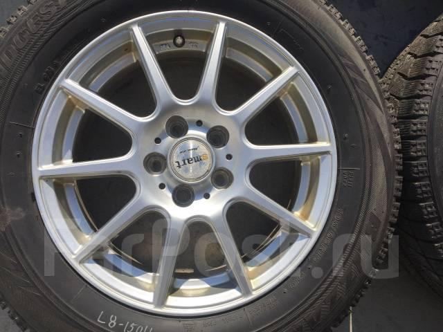 195/65 R15 Bridgestone VRX литые диски 5х100 (L8-1504). 6.0x15 5x100.00 ET45