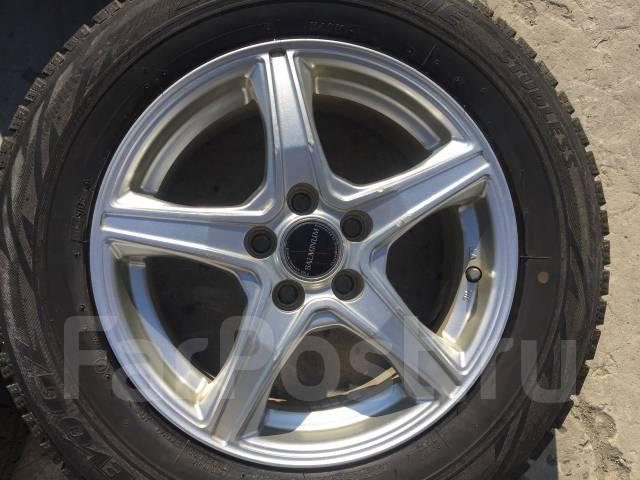 195/65 R15 Bridgestone Revo GZ литые диски 5х100 (L8-1505). 6.0x15 5x100.00 ET45