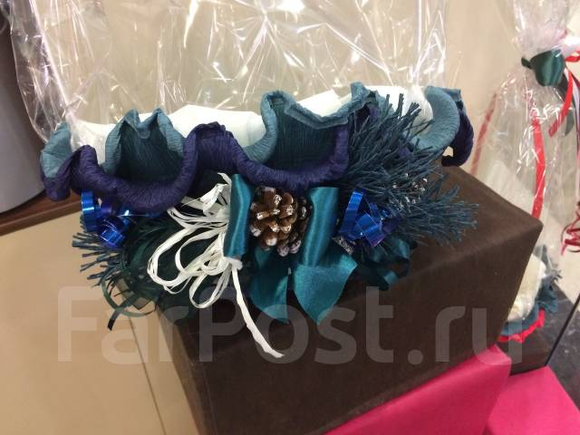 Подарок на Новый год Чайная корзина Арт 8.252 Новогодний сюрприз