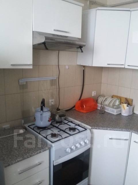 1-комнатная, улица Новороссийская 279. Центральный, агентство, 47 кв.м. Кухня
