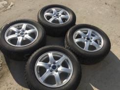 205/60 R15 Bridgestone VRX литые диски 5х100 (L8-1507)