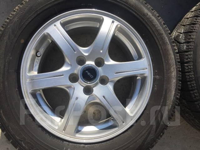 205/60 R15 Bridgestone VRX литые диски 5х100 (L8-1507). 6.0x15 5x100.00 ET45