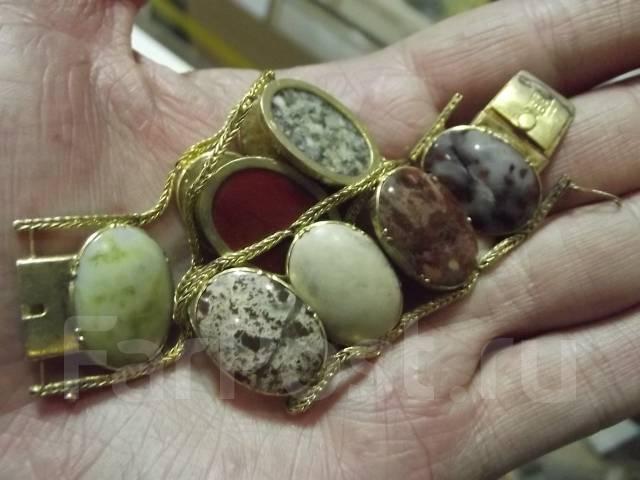Браслет золото 1860 год Российская империя камни. Оригинал