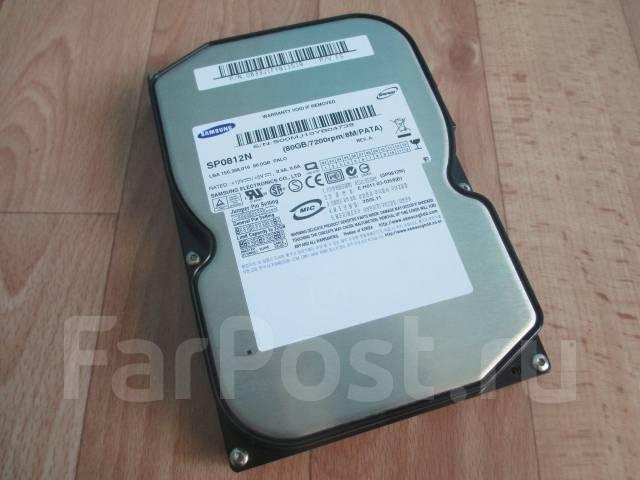 Жесткие диски. 80 Гб, интерфейс IDE