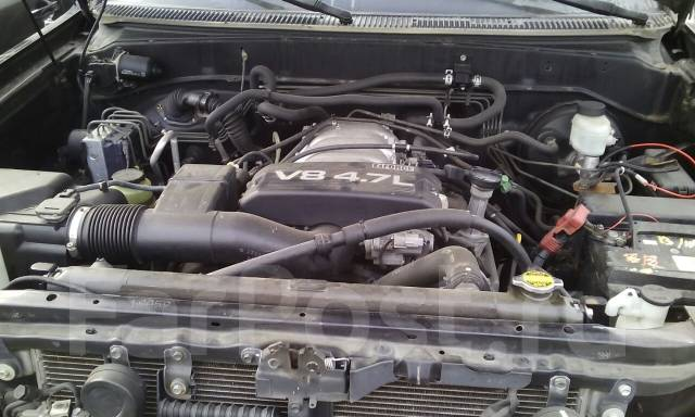 Тросик лючка топливного бака. Toyota Sequoia, UCK45, UCK35 Двигатель 2UZFE