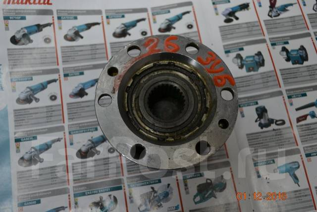 Обгонная муфта ступицы. Toyota Hiace, KZH106G Toyota Hilux, KZN130, KZH106G Двигатели: 1KZTE, 1KZT