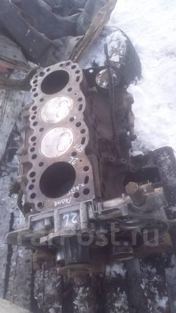 Блок цилиндров. Toyota Dyna, LY50 Двигатель 2L