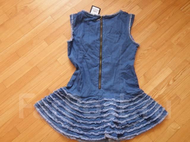 Платья джинсовые. 48