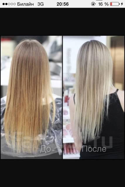 Мелирование волос.