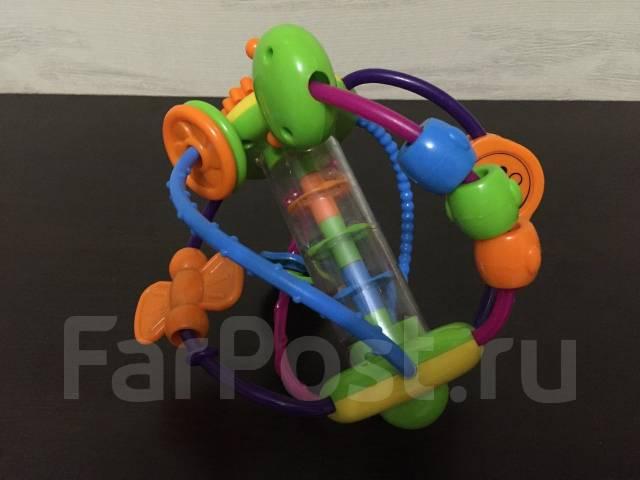 Развивающая игрушка-шар для малыша