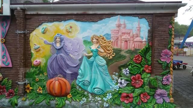 Эксклюзивное украшение двора, сада, площадки .