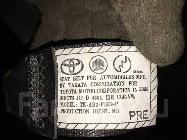 Ремень безопасности. Toyota Cresta, JZX105, GX105, JZX100, JZX101, GX100, LX100 Toyota Mark II, GX105, JZX105, JZX100, GX100, JZX101, LX100 Toyota Cha...