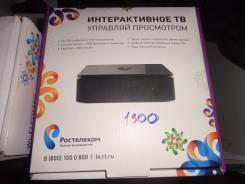 ТВ приставка Интерактивное телевидение Ростелеком