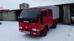Nissan Atlas. Бывшая пожарка пробег 9 тыс км, 2 700 куб. см., 1 500 кг.