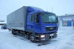 MAN TGS. Тентовый грузовик MAN TGL 10.180 4X2 BL-WW (грузоподъемность 5,1т), 4 500 куб. см., 5 100 кг.