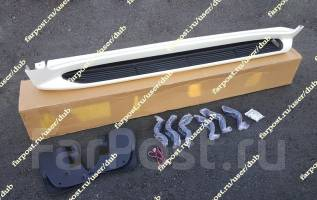 Подножки с подсветкой Land Cruiser 200 (ленд крузер) белые перл. Toyota Land Cruiser