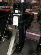Mercury. 15,00л.с., 2х тактный, бензин, нога S (381 мм), Год: 2016 год