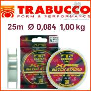 Леска монофильная Trabucco T-Force XPS Match Extra Strong 25m 0,084 1,00kg