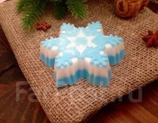 Новогодний подарок -мыло ручной работы