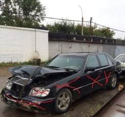 Mercedes-Benz S-Class. Комплект на Mercedes Benz W140 ) 91г ) 200лс ) черный) двс 104