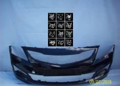 Бампер передний Хендай солярис 2014 рестайлинг 865114L500