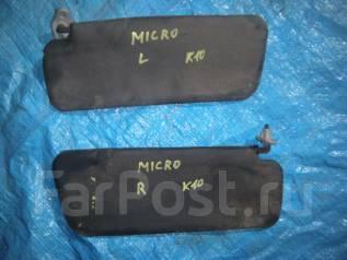 Козырек солнцезащитный. Nissan Micra, K10 Двигатели: MA10S, MA10