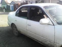 Обшивка багажника. Toyota Corolla, AE100