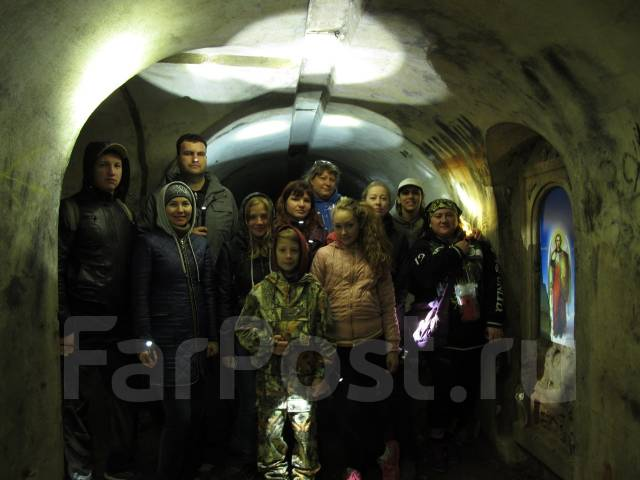 Экскурсия на форты острова Русский (№12 и Поспелова) с диггер-клубом
