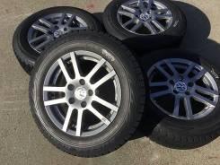 185/65R15 Bridgestone Revo GZ на литье Volkswagen. Из Японии (15453). 6.5x15 5x112.00 ET45. Под заказ