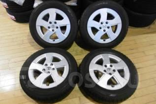 Литье оригинальное Toyota 30 Prius с резиной Dunlop DSX-2 185/65R15. 6.0x15 5x100.00 ET45 ЦО 54,0мм.