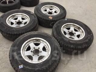 265/70 R16 Dunlop SJ8 литые диски 6х139.7 (L8-1607). 8.0x16 6x139.70 ET10