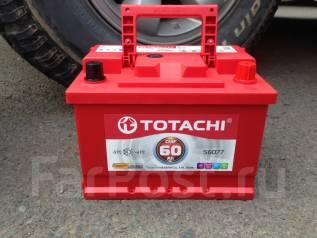Totachi. 60 А.ч., правое крепление, производство Япония