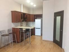 2-комнатная, улица Прапорщика Комарова 58. Центр, частное лицо, 45кв.м. Кухня