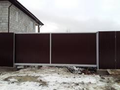 Забор из профлиста от 1800. /м. п.