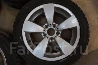 225/50R17 Зимние шины с литыми дисками BMW. Без пробега по РФ. 7.5x17 5x120.00 ET20 ЦО 73,0мм.