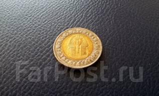 Египет. Биметалл. 1 фунт.