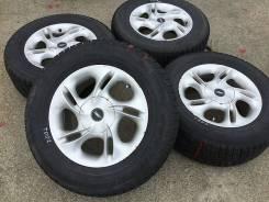 215/65R15 Goodyear на литье. Из Японии (15456R). 6.5x15 4x114.30, 5x114.30 ET45