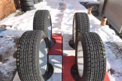 Goodyear Ice Navi Hybrid Zea. Всесезонные, 2009 год, износ: 10%, 4 шт