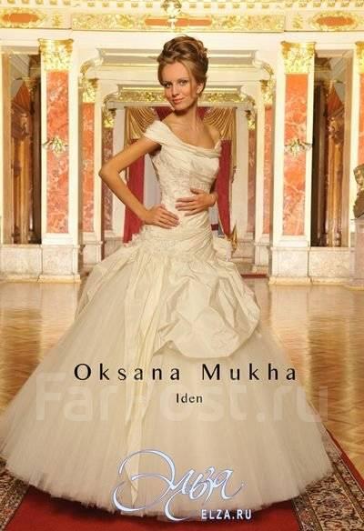 Иден в свадебном платье