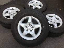 255/65R16 Michelin на литье Mercedes. Из Японии (16461). 8.0x16 5x112.00 ET62