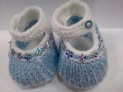 Пинетки-туфли. 16 – 17