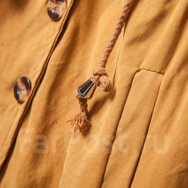 """! С рубля! Стильный плащ-ветровка """"Zjhan"""", free size. Сизый цвет. 40, 42, 44, 40-44, 46"""